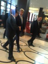 Joseph with Former Secretary of State John Kerry